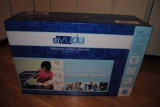 YUDU Personal Screen Printing Machine Printer T Shirt Maker Brand New