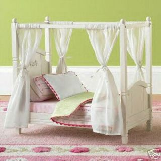 Pottery Barn Kids Madeline Doll Bed Fits American Girls