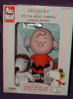 Madame Alexander Peanuts Charlie Brown Doll Snoopy Dog Its Great