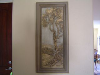 Painting Designed for The Blind by Virginia Lynn of Cambria CA