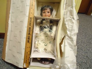 Lynnwood Doll Native American Linda Lee Sutton Porcelain Hard to Find