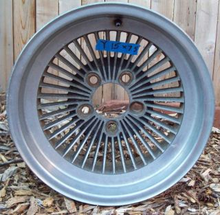 Vintage Turbine Finned Mag Wheels 15 Inch Rim Classic Hot Rod 15 x 7 5