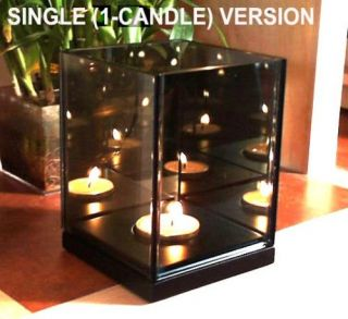 Magic Mirror Illusion Box Single Candle Infinity Light
