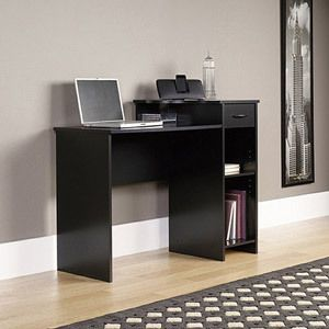 Mainstays Student Desk Multiple Finishes Alder Oak Black or White