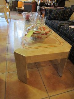 Maitland Smith Shell Coffee Table