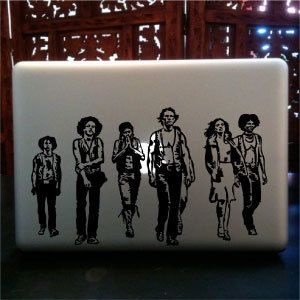 The Warriors Movie MacBook Pro Skin Custom Vinyl Decal