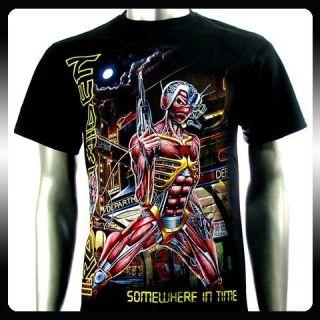 Iron Maiden Heavy Metal Rock Punk Men T Shirt Sz XXL 2XL Biker