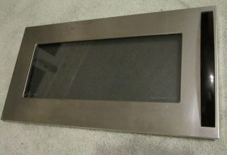 Stainless Steel and Black Main Door for GE Over The Range Microwavb