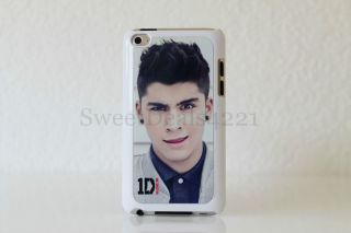 Zayn Malik White Apple iPod Touch 4th Gen Case 8 32 64 GB One