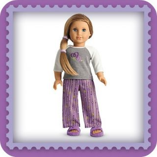 American Girl Doll McKenna Pajamas PJ Sold Out New in Box Retired 2012