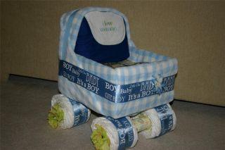 Baby Carriage Diaper Cake Unique Diaper Cake