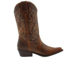 Sale Madden Girl by Steve Madden Sanguine Brown Paris Western Boots