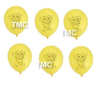 Spongebob Kids Birthday Party Supplies Balloons New