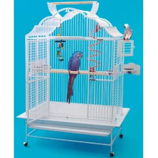 4230 Parrot Bird Cage 42x30x66 Macaw Toy Cages Toys Cockatoo Blue and