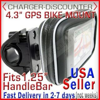 Magellan Roadmate Maestro 4 3 GPS Waterproof Bike Mount