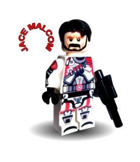Lego Star Wars Minifigure Republic Commander Jace Malcom