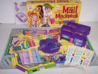 Milton Bradley Electronic Talking Mall Madness Game 3
