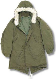 Genuine Military Army US M65 Fishtail Parka Jacket s XL