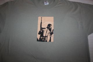 Malcolm X t shirt XXL by any means necessary BDP krs one black