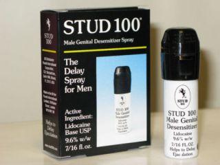 Stud 100 Male Genital Desensitizer Delay Spray 3 Box