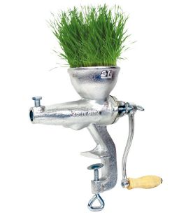 Heavy Duty Cast Iron Manual Wheat Grass Fruit Juicer Extractor Grinder