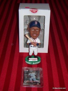 24 Manny Ramirez Boston Red Sox Baseball Bobblehead W/ Original Box