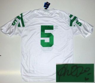 Manti TEO Signed Notre Dame Under The Lights 5 Jersey