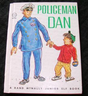 Policeman Dan Vintage Junior Elf Book Virginia Hunter