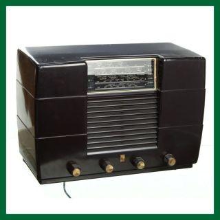 Philco Bakelite A547B Valve Radio Receiver   FREE Mainland UK Delivery