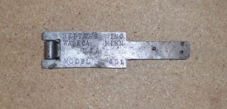 Vintage Lead Fishing Weight Mold Fly Fishing Lead Mold