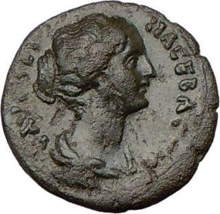 Faustina II Jr Marcus Aurelius Wife 161AD Ancient Roman Coin Demeter