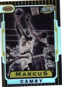 1996 97 Bowmans Best Refractors Marcus Camby Ret