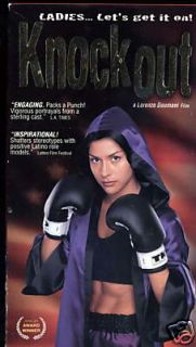 Knockout 2000 VHS Maria Conchita Alonso 640587990433