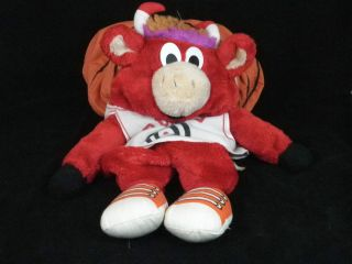 Vtg 90s Chicago Bulls Benny The Bull Basketball Popple Jordan Pippen