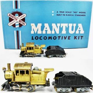 Mantua 1948 Brass KC 444 Goat 0 4 0 switcher locomotive HO camelback