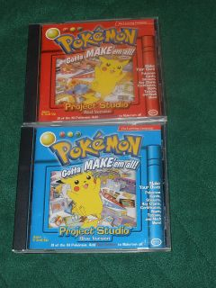 Pokemon Gotta Make Em All Project Studio Computer Games Red Blue