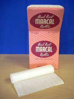MARCAL BARBER CHAIR HEAD REST PAPER ROLLS, THE ORIGINAL HEADREST PAPER