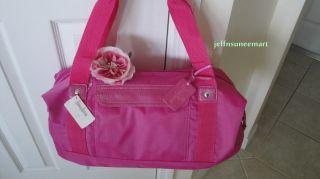 Large Tote Duffle Bag Handbag Pink