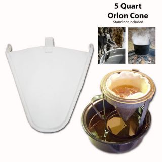 Maple Syrup Filter Cone Synthetic 5 Quart