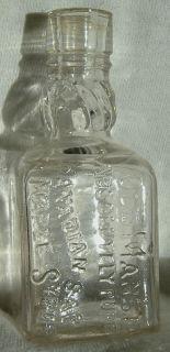 Vintage Old Manse Canadian Maple Syrup Mini Bottle