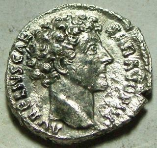 Marcus Aurelius Caesar Honos cornucopiae Rare Genuine ancient Roman