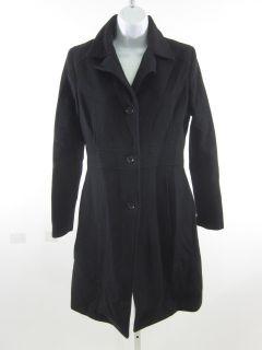 Marc New York Andrew Marc Black Wool Overcoat Sz S