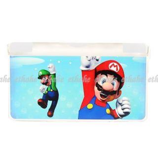 Super Mario Nintendo DS Lite NDSL Plastic Case E1E34A