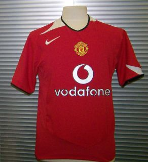 Manchester United 2005 06 F A Cup Winners Nike Extra Large Home Shirt