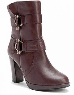 Harley Davidson Womens Boots Marissa Brown All Sizes