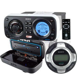 Sony CDXHS70MW Marine CD  Waterproof Radio Wired Remote CDX HS70MW