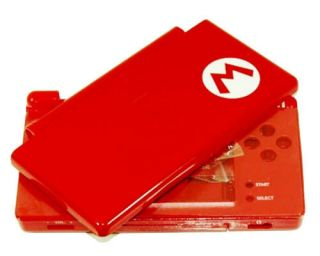 Mario Red Full Housing Shell Case for DS Lite NDSL