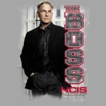 NCIS TV Show Mark Harmon Agent Gibbs The Boss Tee Shirt Adult Sizes s