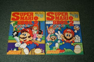 Super Mario Bros. 2 Inside Out Part 1+2, I+II (Nintendo, NES) Strategy