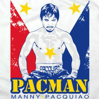 Manny Pacquiao Pacman T Shirt Boxing Gloves Filipino Philippines XL